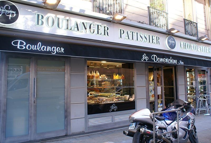 Façade Boulangerie Dominichine