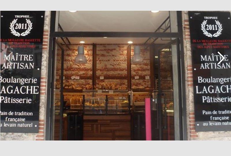 Façade Boulangerie Lagache Nice