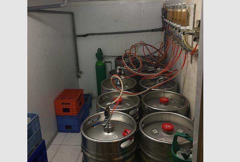 Chambre à Fûts de bière