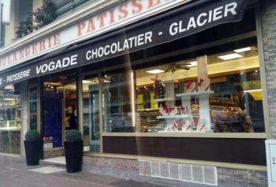 Façade Boulangerie Chocolaterie Vogade Nice
