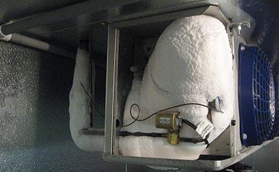 Dépannage Froid Evaporateur pris en Glace